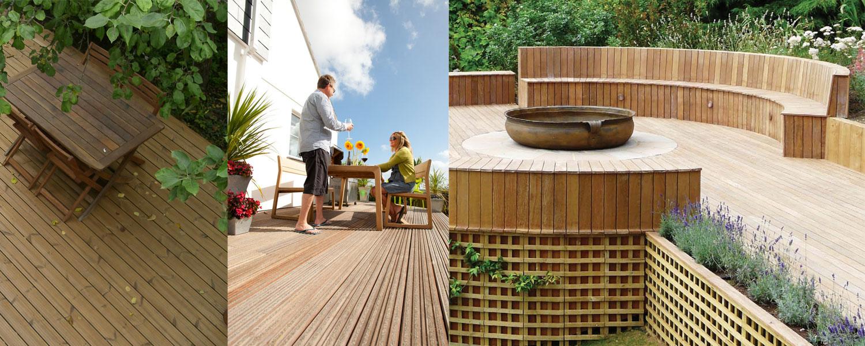 Garden Decking - BHC Builders Merchant, Carnwath, Lanarkshire