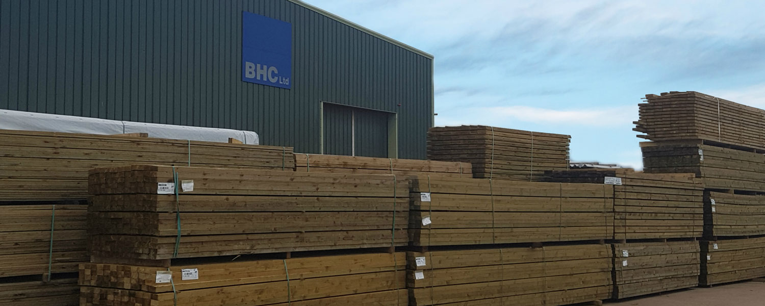 Treated Timber - BHC Builders' Merchant