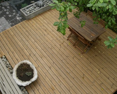 European Redwood Decking