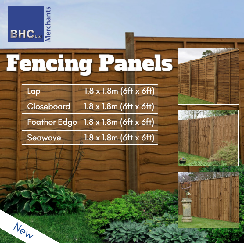 BSW Fence Panels
