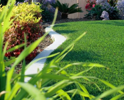 A guide to laying artificial grass.