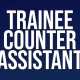 Trainee Counter Assistant small