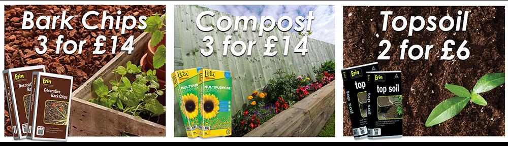 Compost, Soil, Bark