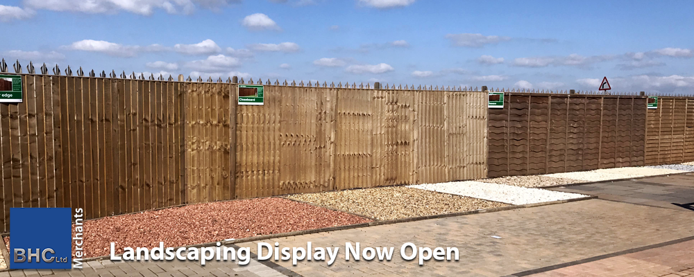 Landscaping Display Now Open