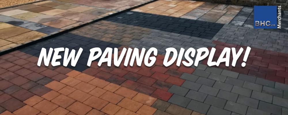 New Paving Display